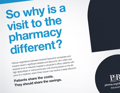 Why is a visit to the pharmacy different?